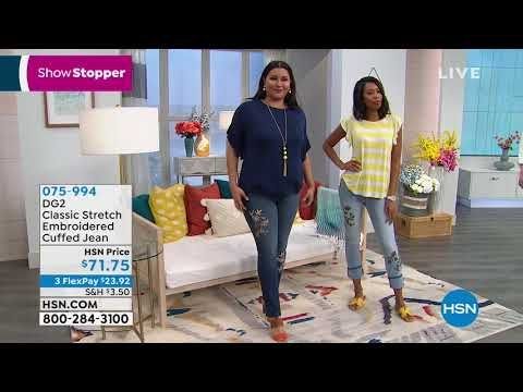 HSN | Diane Gilman Jeans Fest . http://bit.ly/2WCYBow
