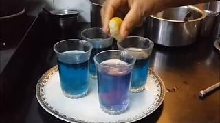 Blue Chai   A herbal drink