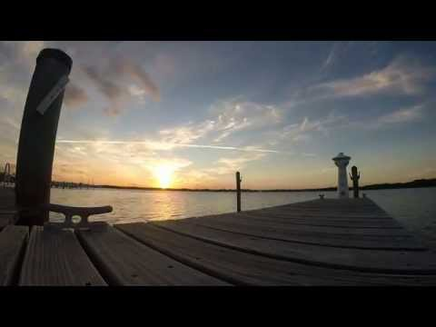 Sunset Time-Lapse @ Coconut Palm Inn, Tavernier, Florida Keys !