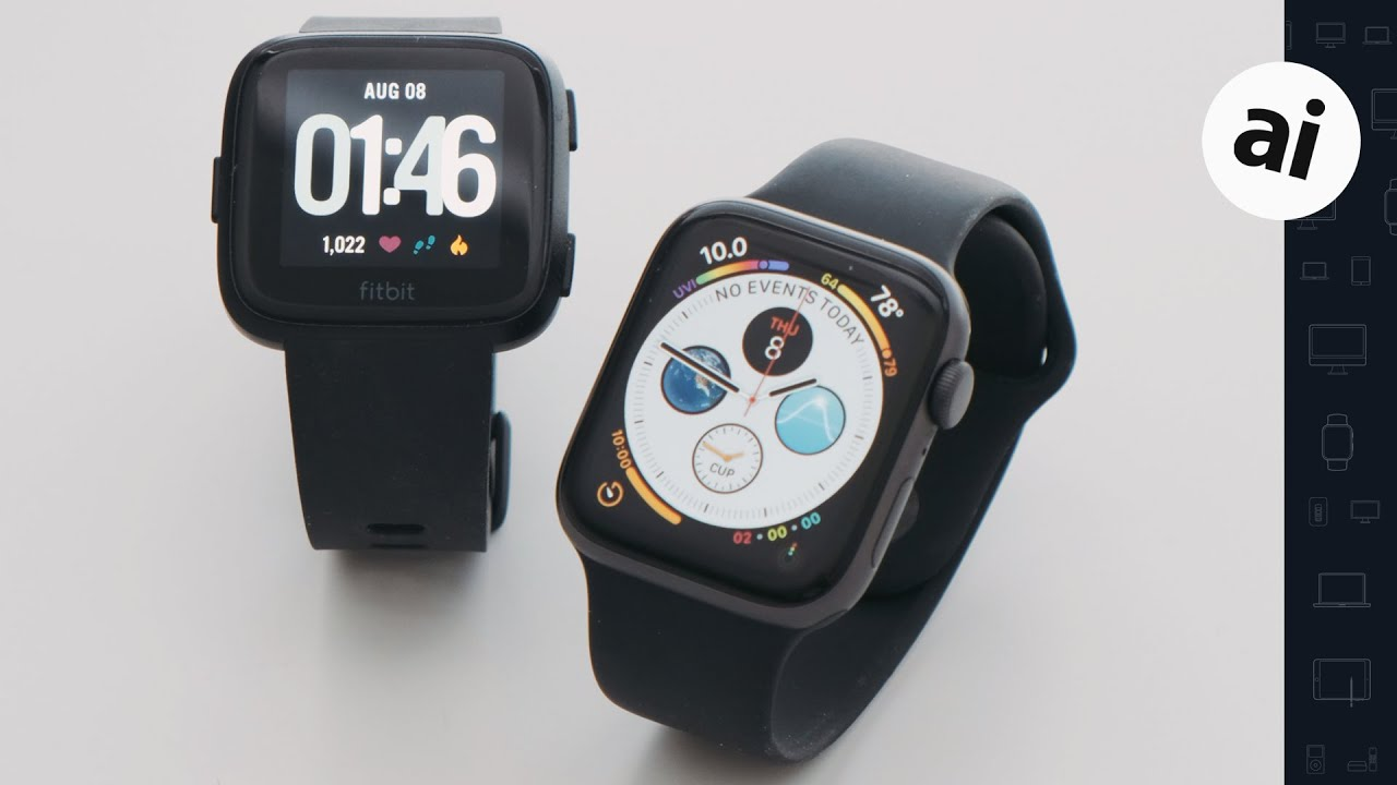 Apple Watch vs Fitbit Versa: putting the best fitness tracker