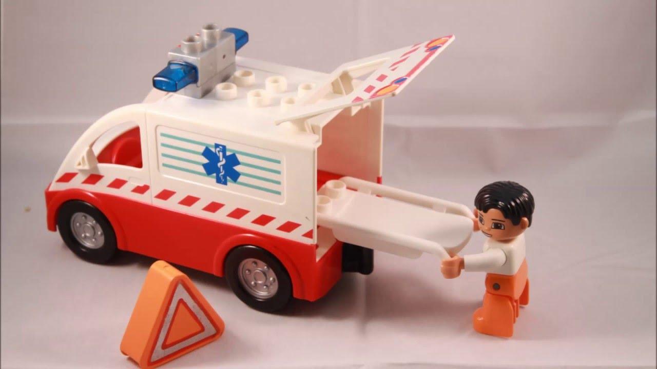 Lego Duplo Ambulance 4979 Youtube