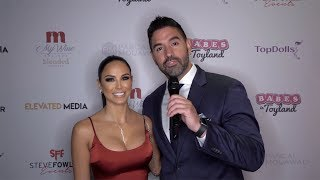 Melissa Riso Interview 2019 Babes in Toyland LA Toy Drive Red Carpet