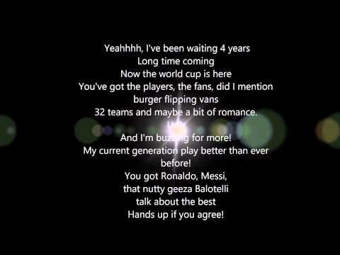 World Cup Song  Joe Weller ft Randolph & KSI Lyrics 1080p HD