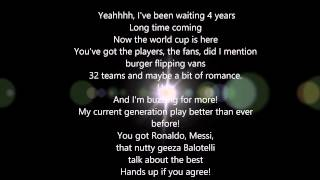 World Cup Song - Joe Weller ft Randolph & KSI Lyrics 1080p HD