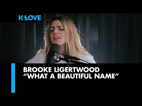 "Hillsong Worship ""What a Beautiful Name"" LIVE at K-LOVE Radio"