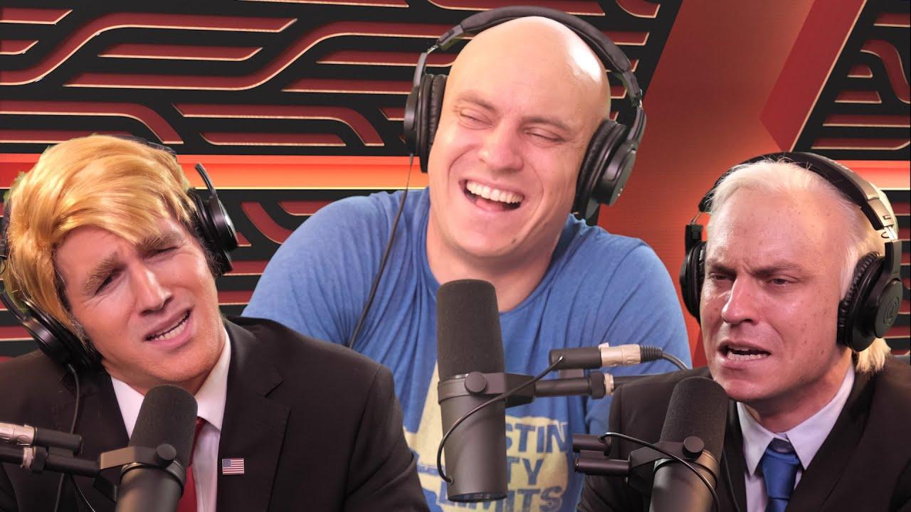 Joe Rogan hosts the 2020 Presidential Debate: Donald Trump vs Joe Biden (PARODY) (part 1)