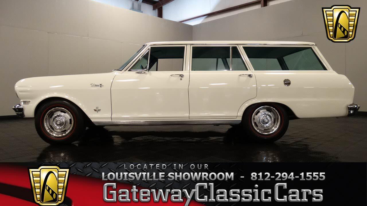 All Chevy 64 chevy nova : 1964 Chevrolet Nova Station Wagon - Louisville Showroom - Stock ...