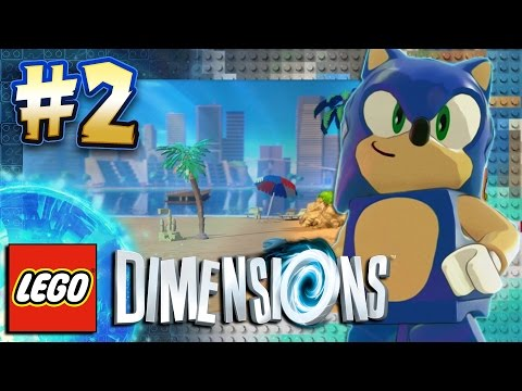 Lego Dimensions PS4 Pro - Sonic Level Pack Part 2: Emerald Coast & BOSS (4K 60FPS)
