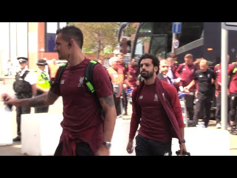 Liverpool Squad Arrive At John Lennon Airport Ahead Of Champions League Final