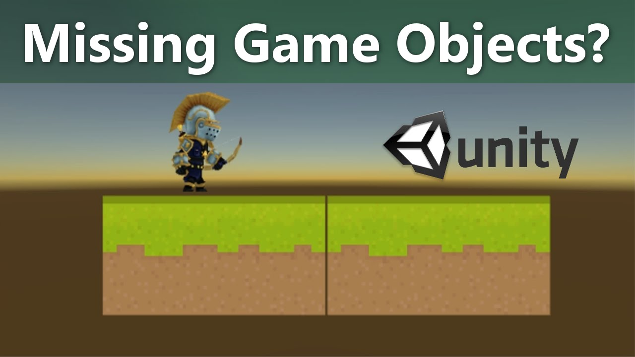 Game Objects Don't Appear in Game View or on Camera   Unity 2D 5 4