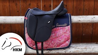 Saddle pad without quilting | HKM Sports Equipment