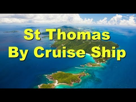St Thomas by cruise ship post Irma 2018