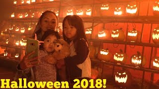 My Kids Got Scared at The Scary Halloween Horror Night in Los Angeles Haunted Hayride.