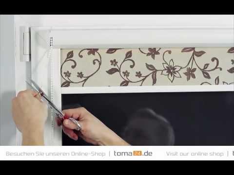 how to install standard cassette roller blind | toma24.eu