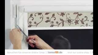 how to install standard cassette roller blind | toma24.eu