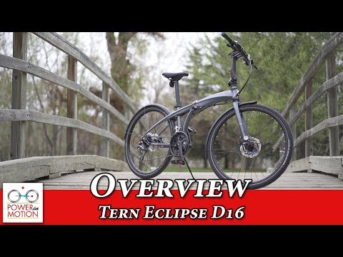 Tern Eclipse D16 Overview - Folding Bike Calgary   Edmonton   Vancouver   Toronto    Canada
