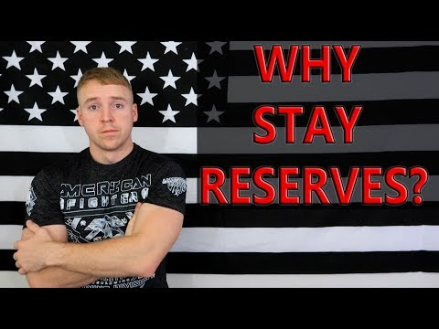 Why I Am Staying In The Army Reserves As An Officer
