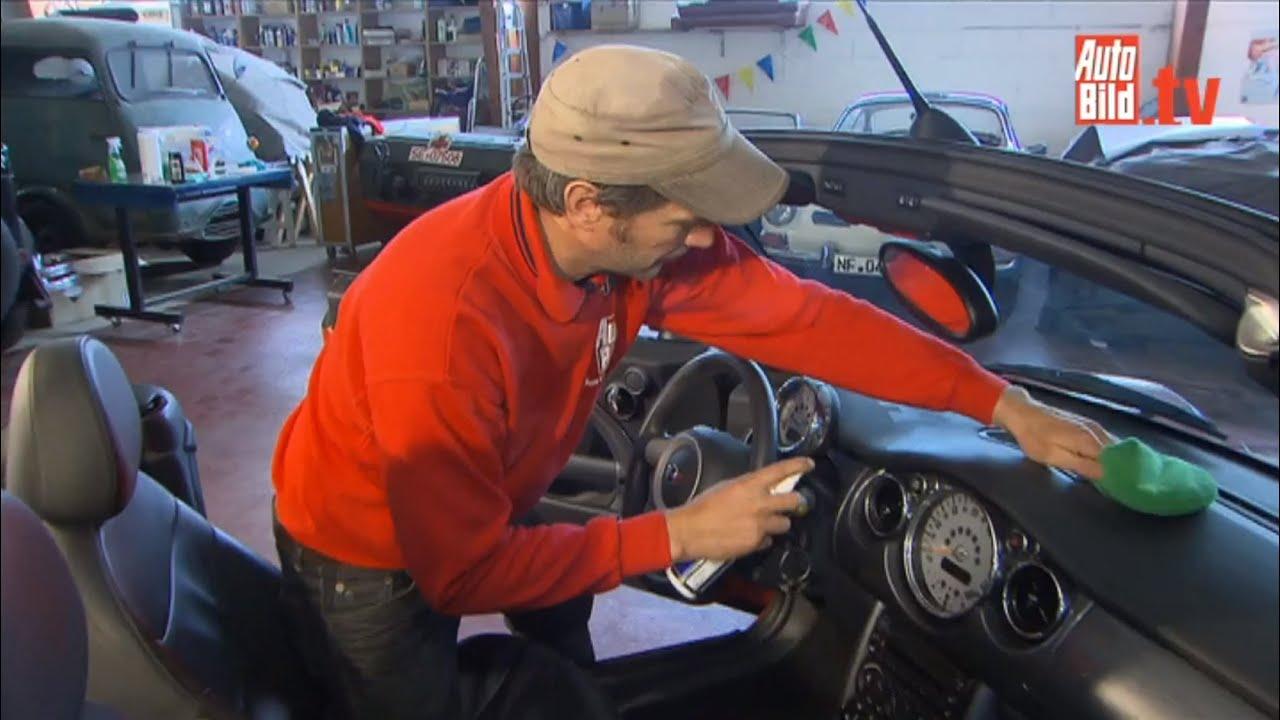 Fußboden Im Auto Reinigen ~ Auto bild pflegetipps innenreinigung youtube