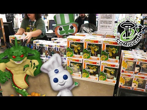 ECCC Funko Pop Hunting | Everything I Wanted!