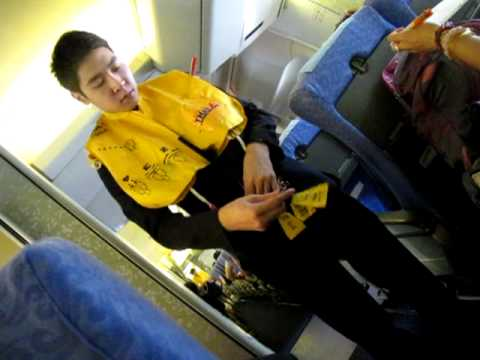 Orient Thai Airlines Safety Demo
