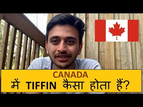 Tiffin In Canada | For Students | Veg | Rates |  Kevin Valani