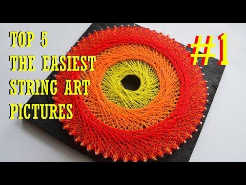 top-5-easiest-string-art-pictures-#1-|-diy-tutorial-|-mandala-in-circle-|-3-colours