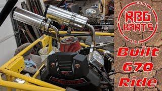 670cc V - Twin Go Kart First Ride ~ Manco Deuce Build Ep.3