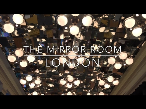 The Mirror Room at Rosewood Hotel, London