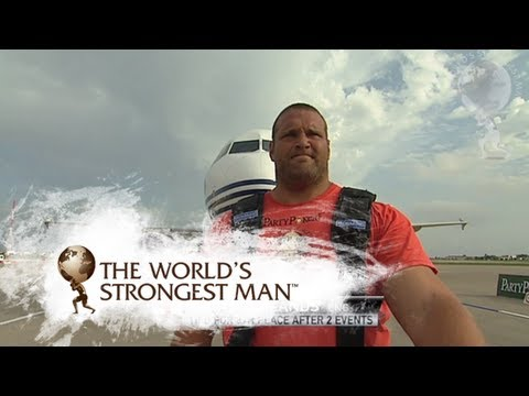 2009 Plane Pull: Terry Hollands | World's Strongest Man
