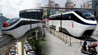 China Technology! Super Advanced Driverless Trains Unveiled In China