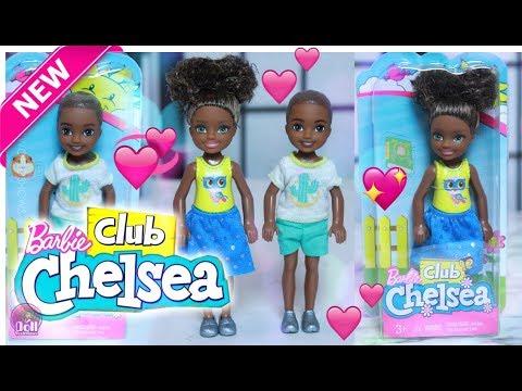 New African American Boy & Girl Barbie Club Chelsea Dolls Review!