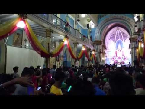 Last Day Of Bandra Fair at Mount Mary Church