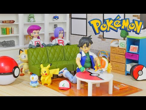 Download Youtube: New Pokemon Toys - S.H.Figuarts and Get Collections Mini Figure - I Choose You
