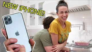 SURPRISING MY HUSBAND WITH THE NEW iPHONE 12!