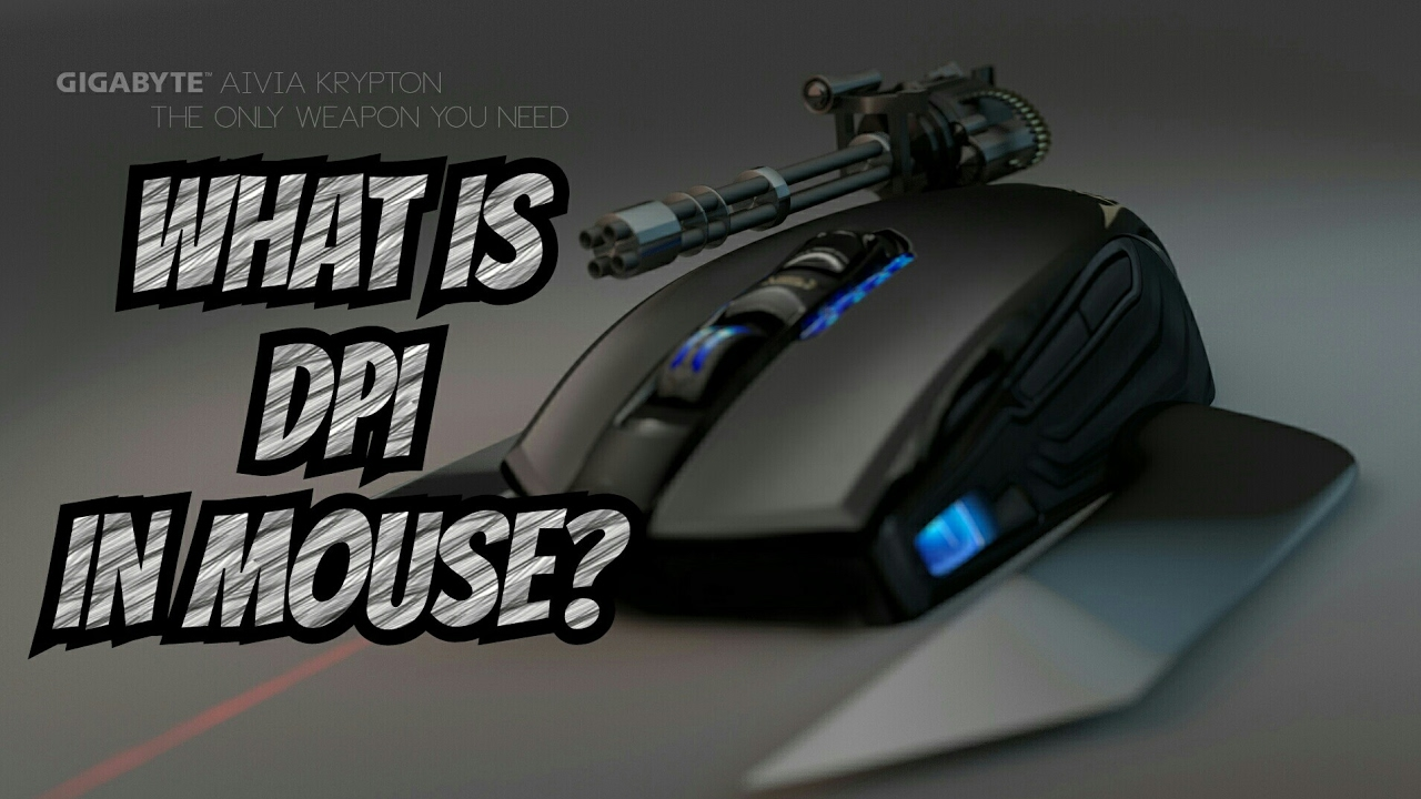 What is DPI ? & Why it's button on Mouse