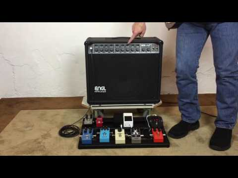 100 Amp Disconnect >> Engl Straight 112 combo 100 watt tube guitar amp - YouTube
