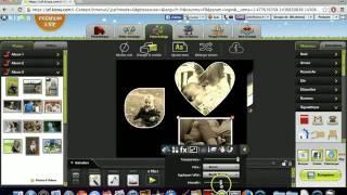 Comment utiliser un collage libre - Kizoa Tutoriel