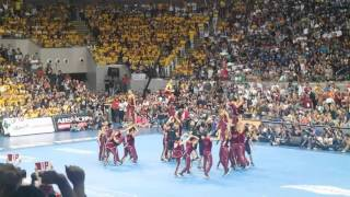 UP PEP SQUAD - UAAP CHEERDANCE COMPETITION 2015