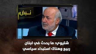 شتيوي: ما يحدث في لبنان ربيع وهناك استبداد سياسي