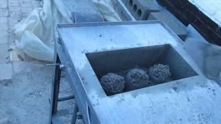 Домашнее изготовление бетонных блоков(, 2013-06-18T19:58:00.000Z)