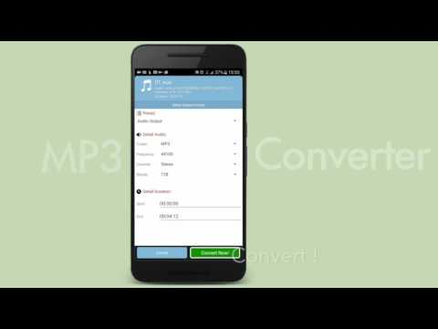 Mp3 Converter - Android tutorial