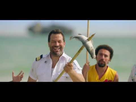 اضحك مع نجوم مسلسل في اللالالاند لما اصطادوا سمك بالعصيان😂شوفوا هيعملوا كدة ازاي😁