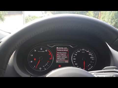 Audi A3 Sportback 8V - Presentation - Sepang Blue  - Bang & Olufsen test