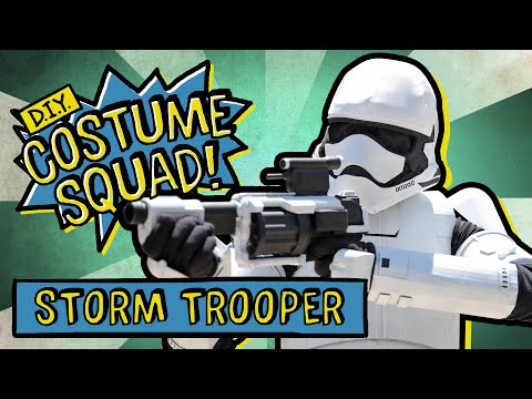 Make Your Own Stormtrooper Costume - DIY Costume Squad