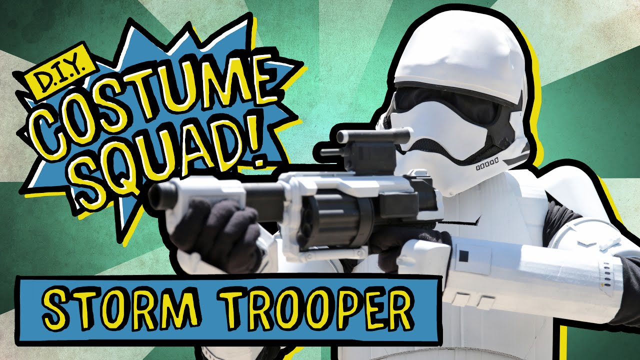Make your own stormtrooper costume diy costume squad youtube make your own stormtrooper costume diy costume squad solutioingenieria Gallery