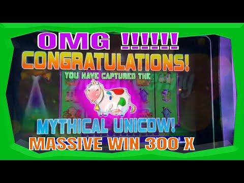 OMG - I CATCH THE UNICOW IN THE BONUS - HOW DO I DO - MOOOOOO !