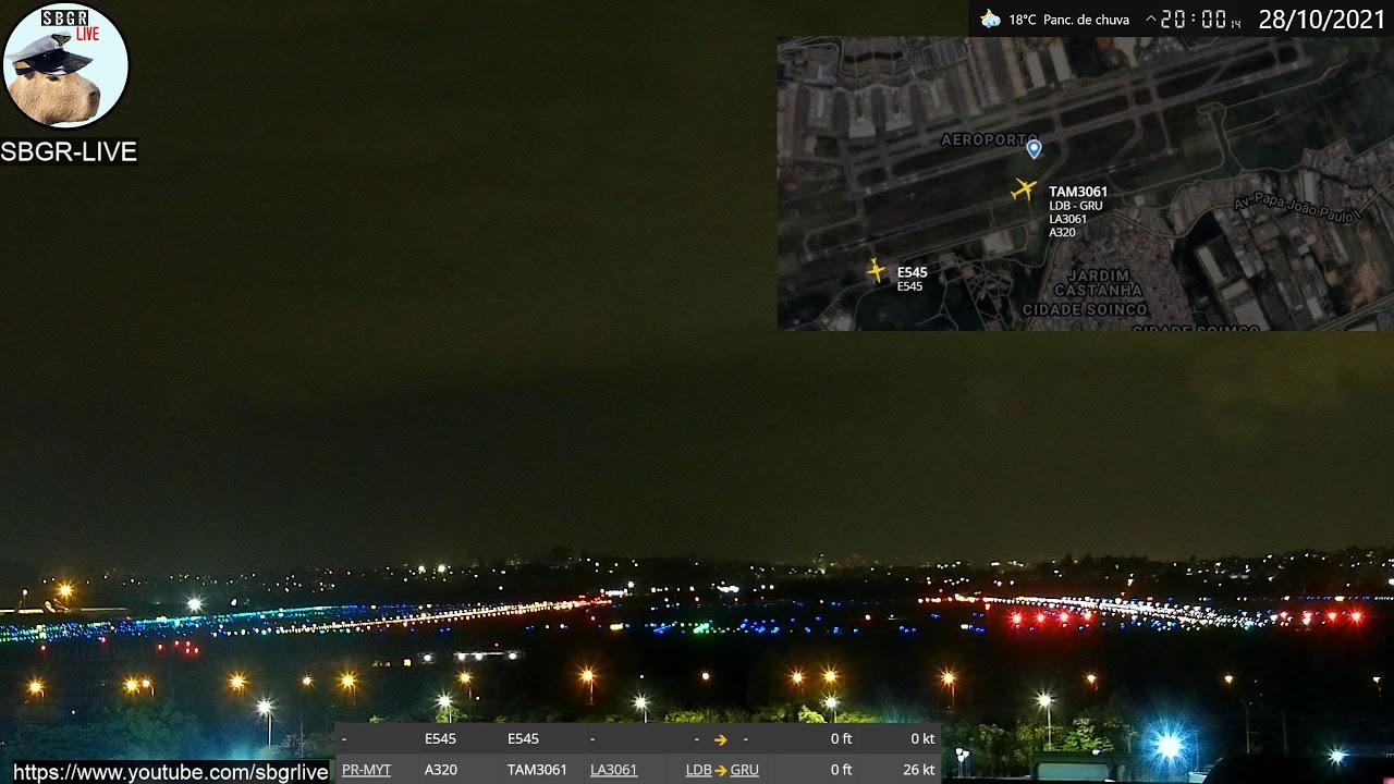 Download SBGR LIVE 4K - Aeroporto Internacional de Guarulhos AO VIVO
