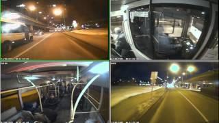 Авария автобуса в Москве
