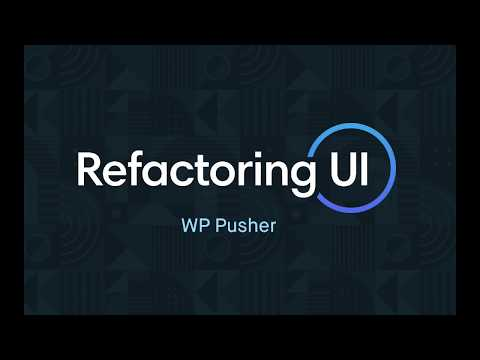 Refactoring UI: WP Pusher Checkout Page