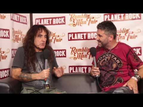 Steve Harris British Lion - Ramblin' Man Fair 2017 Interview